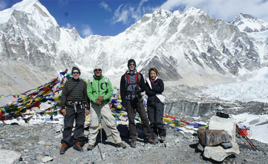 Jiri To Mount Everest Basecamp Trekking Tourists Nepal