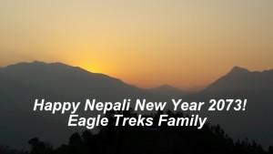 Happy Nepali New Year 2073 Eagle Treks